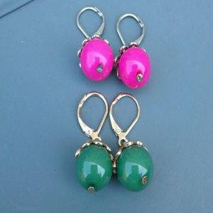 Set of 2 Ball Earrings